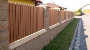montáž plotových polí