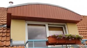 Podbití střechy plastové palubky foliované