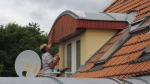 Montáž podbití střechy
